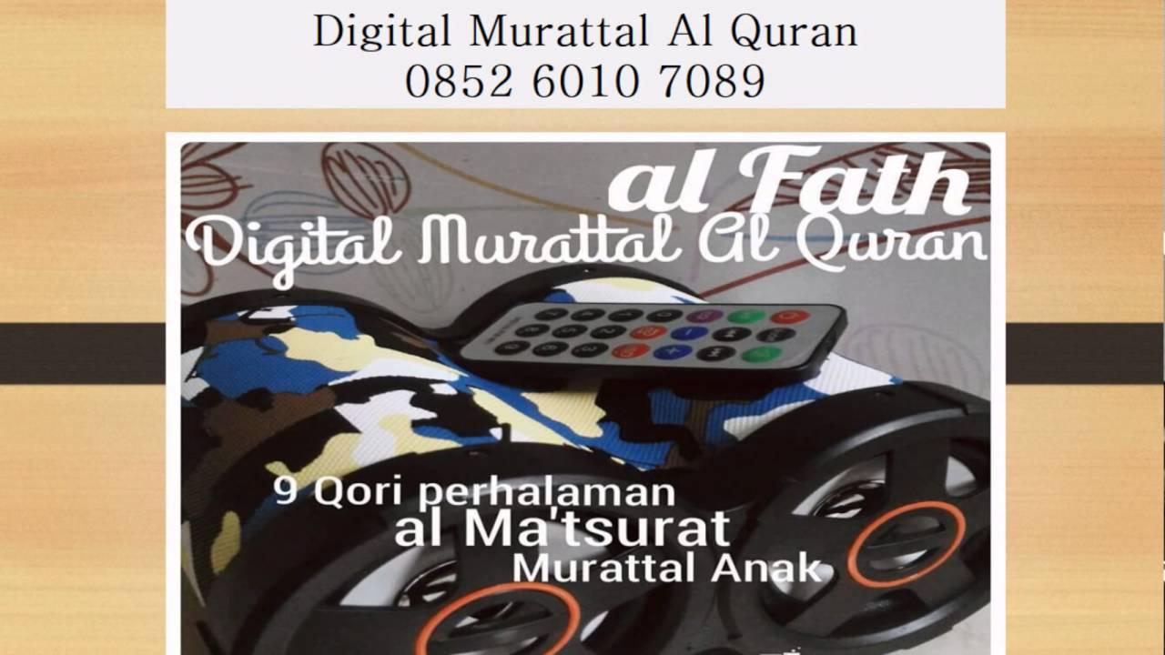 Jual Mp3 Murattal Al Quran Makassar, 085260107089