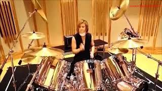 X JAPAN YOSHIKI Drum set Tuning Now (2017 12.30) ドラム復活!!! X JA...