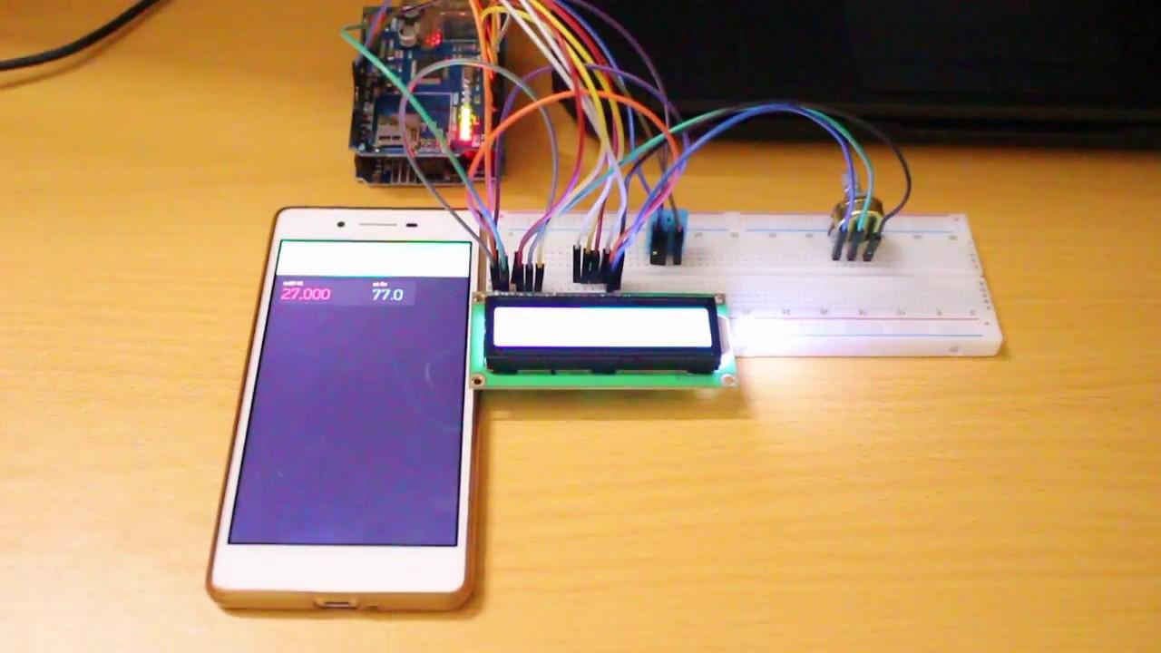 [IoT] Hiển thị thông số cảm biến trên Smart Phone từ đám mây
