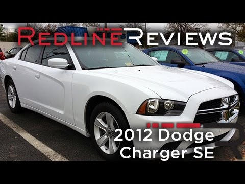 2012 Dodge Charger SE Review, Walkaround, Exhaust, Test Drive