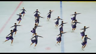 Команда ЖЕМЧУЖИНА г Тольятти 2019 Синхронное фигурное катание на коньках