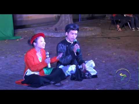 [Festival BC2012] Phần thi chào hỏi: Duy Khánh - Quỳnh Hoa