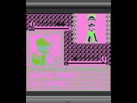 Pokemon Red - Progressively glitching the game 2 (asm hack)