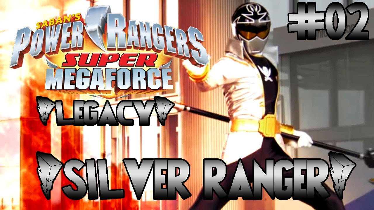Power Rangers Super Megaforce Legacy – Silver Ranger e Gold