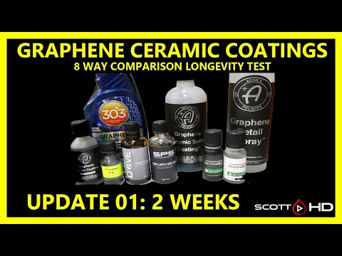 Graphene Coatings - 8 Way Comparison - TWO WEEK UPDATE - ALREADY have failures!