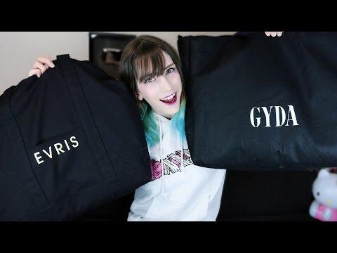 【福袋ネタバレ】EVRISとGYDAの2016年の福袋を開封します!
