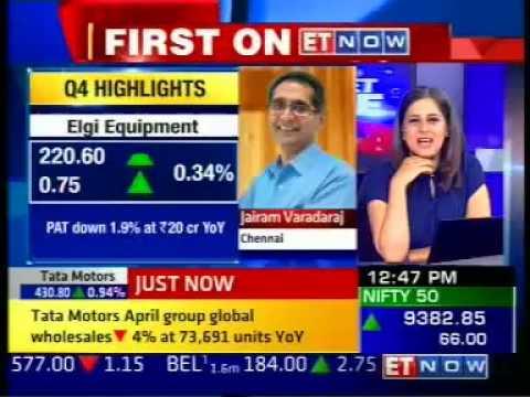 Exclusive With ELGi Equipments Managing Director Dr. Jairam Varadaraj