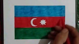 Bayraq Səkili Cəkmək Youtube