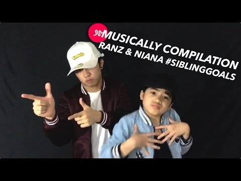 Musically Compilation #SibingGoals | Ranz and Niana