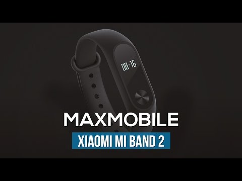 Thiết kế Xiaomi Mi Band 2