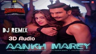 Gambar cover Aankh Marey Full Mp3 Songs | 3D Quality Song | Simmba Movie | Ranveer Singh And Sara Ali Khan, 3D so