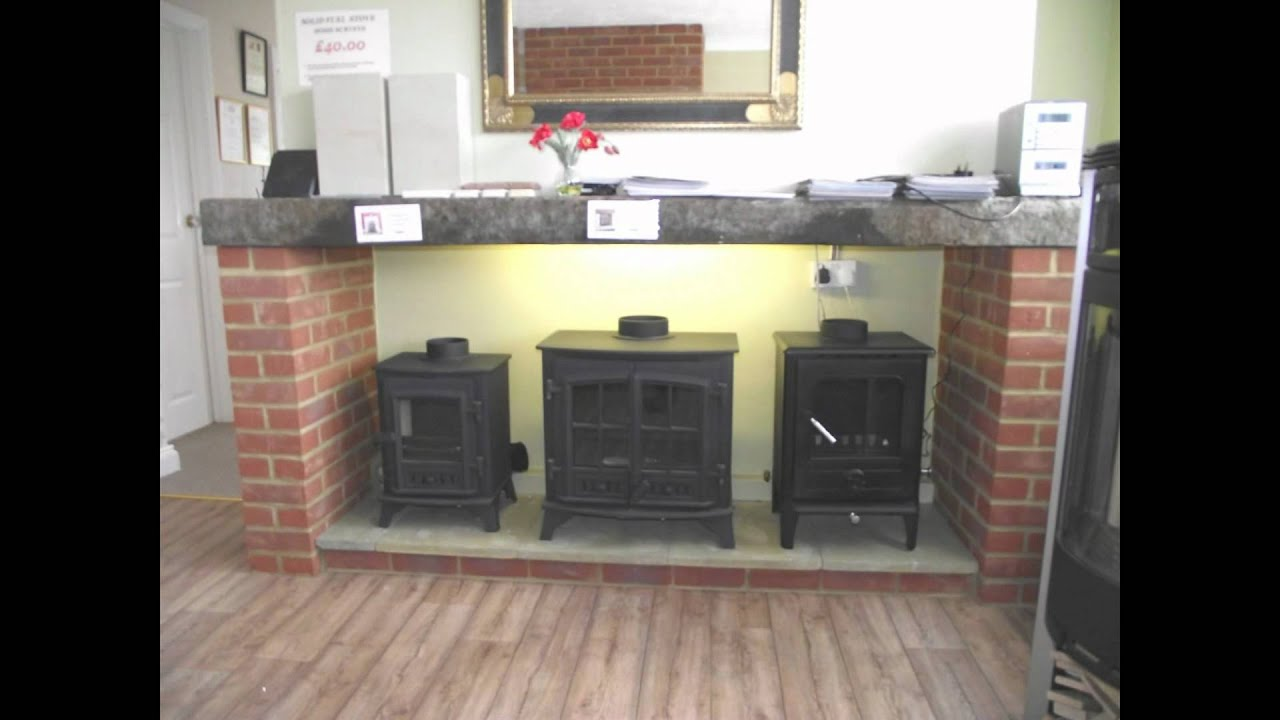 St Neots Fireplace & Stove Centre Showroom - YouTube