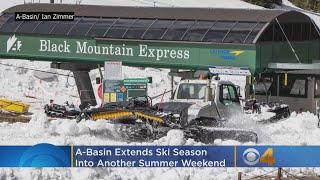 A-Basin Extends Ski Season Into Another Summer Weekend