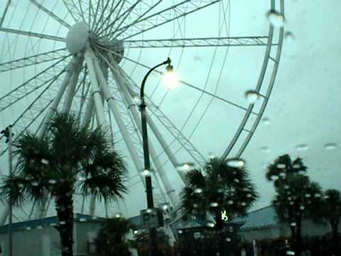 Hurricane Irene Downtown Myrtle Beach Sc