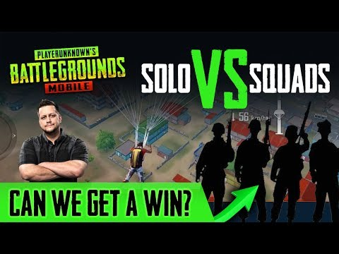 POWERBANG AGAINST THE WORLD - Solo vs. Squads in ARCADE! (PUBG Mobile)