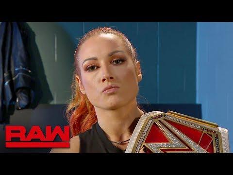 Becky Lynch fires back at Sasha Banks: Raw, Aug. 19, 2019