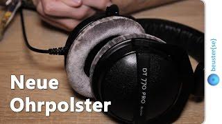 Kopfhörer Ohrpolster tauschen - Beyerdynamic DT 770 Pro [DE]