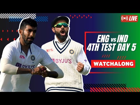#ENGvIND | 4th Test Day 5 | Betway Mission Domination Watchalong LIVE