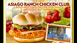 Wendy's - Asiago Ranch Chicken Club Review!