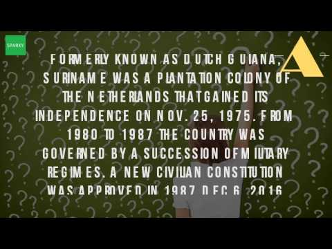Who Did Suriname Get Its Independence From?