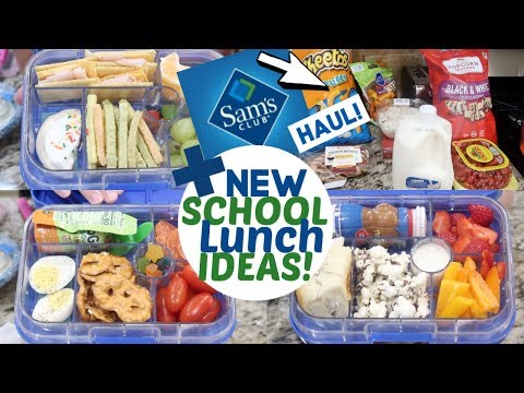 BACK TO SCHOOL LUNCH HAUL   NEW EASY SCHOOL LUNCH IDEAS 2019