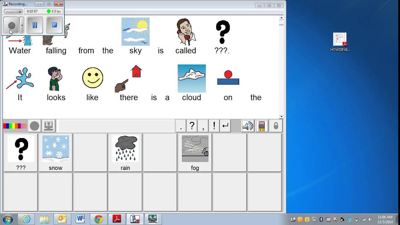 How to create pixwriter fill in the blank activities youtube.