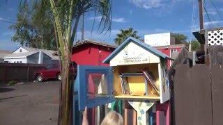 Интересный обмен книгами в Америке Самодельная библиотека в США / Наш Сан Диего