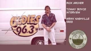 WRMX Nashville Rick Archer Tommy Boyce Interview