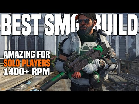 The Division 2   Best Solo SMG Build For PVE & Dark Zone
