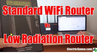 Low Radiation WiFi Router: JRS Eco Compared to Normal Router (Updated)