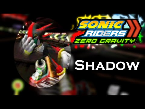 Sonic Riders Zero Gravity WGP - Shadow