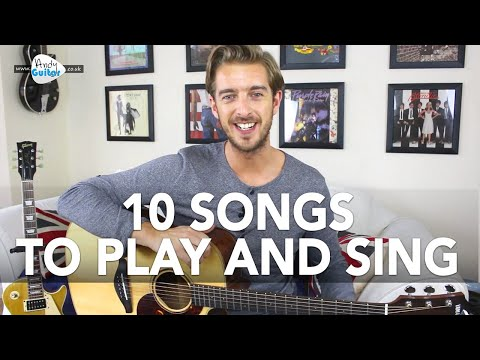 10 Great Songs To Play And Sing On Guitar