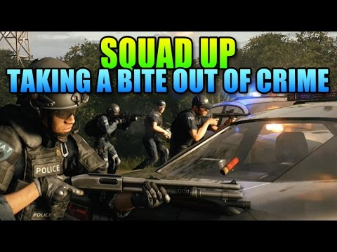 Squad Up - Taking A Bite Out Of Crime! | Battlefield Hardline Teamwork Gameplay