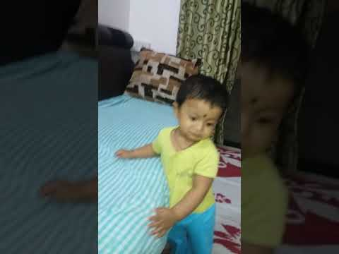 Funny child, नटखट बच्चा, pune, cartoon, laughing baby, playing baby, learning baby, deva zinjad