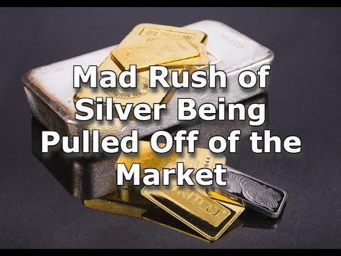 Mad Rush of Silver Being Pulled Off of the Market
