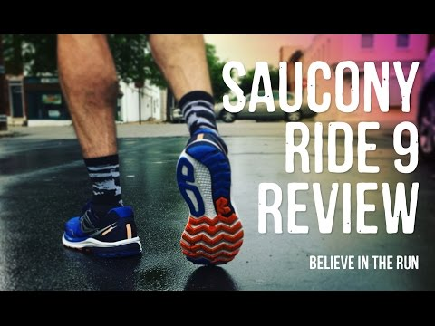 Saucony Ride 9 Running Shoe Review
