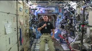 Space Station Commander Pays Tribute to the Nation's Veterans