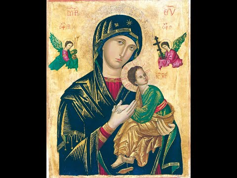 Part I - History of the Icon of Our Mother of Perpetual Help