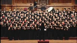 Cloudburst (Eric Whitacre) - National Taiwan University Chorus