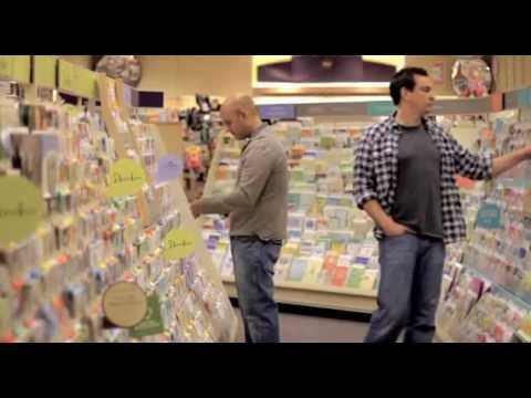 Funny – Two Guys Picking out Greeting Cards