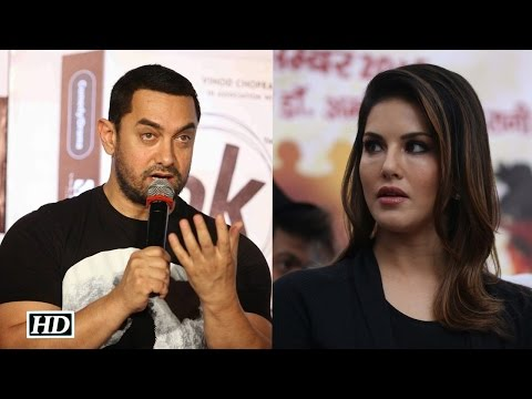 Aamir Khan Reacts after Sunny Leone...