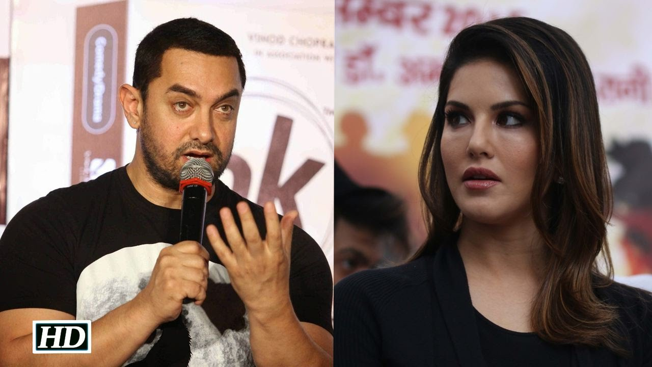 Aamir Khan Reacts after Sunny Leone INSULTED In An Interview !