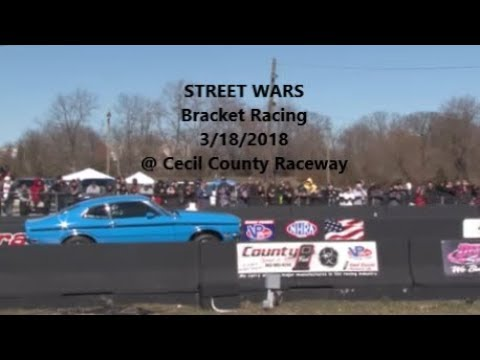 Street Wars 1 Import VS Domestic Cecil County Dragway 3182018 Bracket Racing Part 1