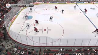 NHL 13 Gameplay [HD] Xbox 360 w/ Goal review
