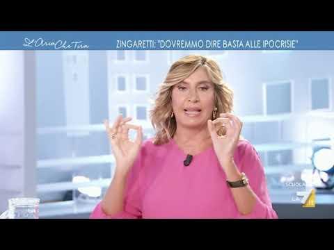 Luigi Di Maio ospite a L'Aria che tira 14/09/2020 La7