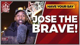 FLEX   Mourinho Was Brave! Manchester United 0-3 Tottenham FanCam