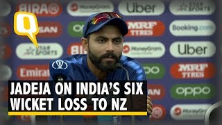 ICC WC 2019 Warm-up: Jadeja on India's Six Wicket Loss to NZ | The Quint