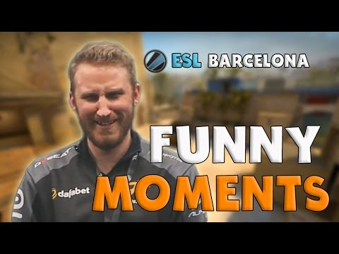 CS:GO | Funny Moments - ESL Expo Barcelona (+ Highlights)