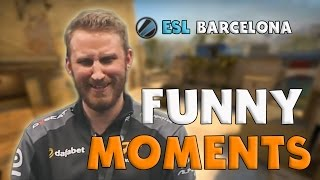 CS:GO | Funny Moments - ESL Expo Barcelona (+ Highlights) streaming