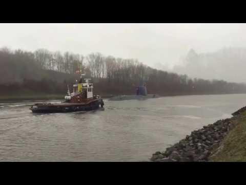 Havarist im Nord-Ostsee-Kanal 31. Oktober 2013из YouTube · Длительность: 2 мин11 с